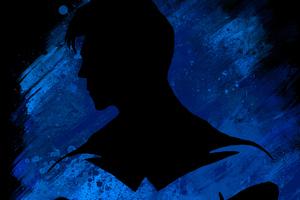 Nightwing Paint Art