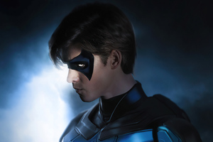 Nightwing Titans 2020 Wallpaper