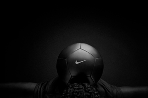 Nike Black Play Football