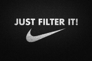 Nike Funny Typography Wallpaper