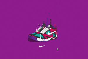 Nike Sneakes Minimal 4k