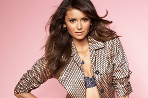 Nina Dobrev 5k Wallpaper