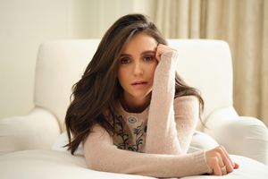 Nina Dobrev Dior Wallpaper