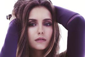 Nina Dobrev Face Portrait 4k Latest