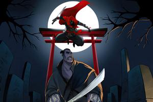 Ninja Attack Aragami Wallpaper