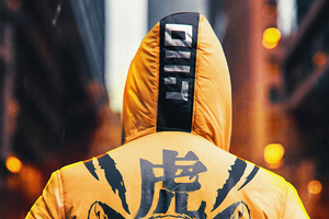 Ninja Hoodie Boy 4k