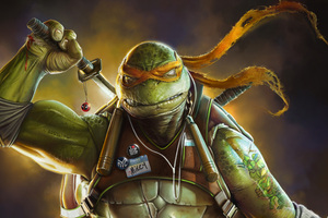 Ninja Turtle Art Wallpaper