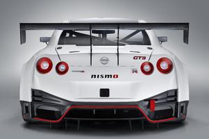 Nismo Nissan GT R GT3 2018 Rear