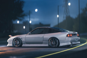 Nissan 180SX NFS Wallpaper