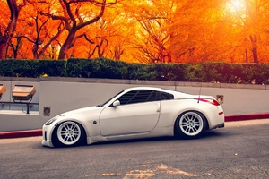 Nissan 350Z Autumn