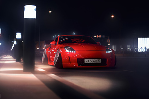 Nissan 350z Modified 4k Wallpaper