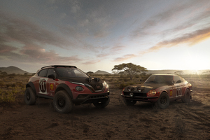 Nissan Fairlady And Juke Rally Tribute Concept 5k Wallpaper