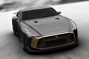 Nissan GT R50 Concept 2018 4k