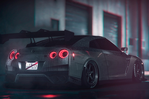 Nissan Gtr 2019 4k Wallpaper