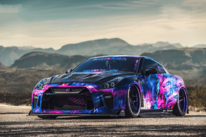 Nissan Gtr 2020 4k Wallpaper