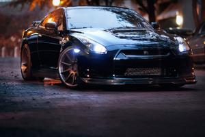 Nissan GTR Black 2