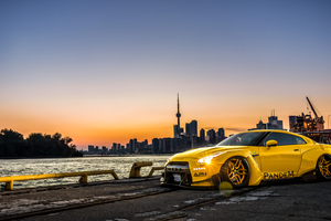 Nissan GTR Canada 5k