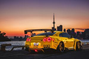 Nissan GTR Canada Wallpaper
