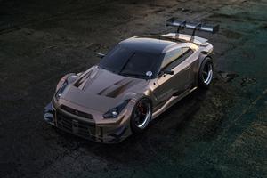Nissan GTR Nismo 2020 4k