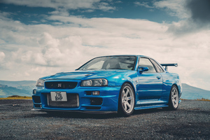 Nissan Gtr R34 Wallpaper