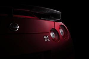 Nissan Gtr Tail Light 4k