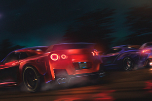 Nissan Gtr Vs Supra 4k Wallpaper