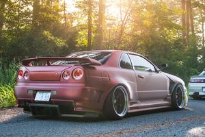 Nissan Skyline GTR 4k