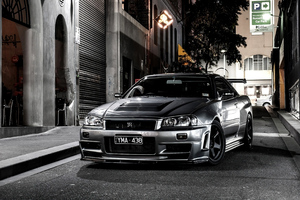 Nissan Skyline Gtr R34 2020 4k Wallpaper