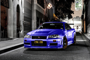 Nissan Skyline Gtr R34 4k Wallpaper