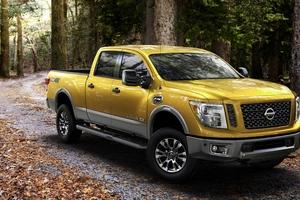 Nissan Titan Yellow