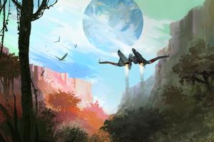 No Mans Sky Game HD Wallpaper