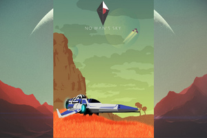 No Mans Sky Hd Game Wallpaper