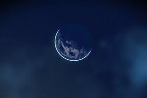 No Mans Sky Moon 4k Wallpaper