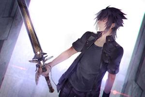 Noctis Lucis Caelum Final Fantasy XV Art