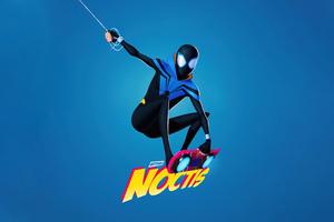 Noctis Spiderman Wallpaper
