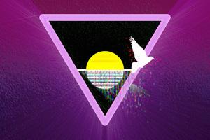 Non Binary Triangle Life 5k Wallpaper