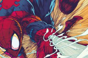Non Stop Spiderman 4k