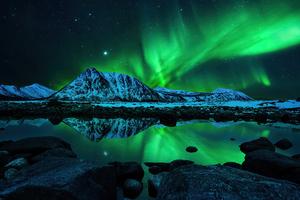 Northern Lights Aurora Borealis 4k