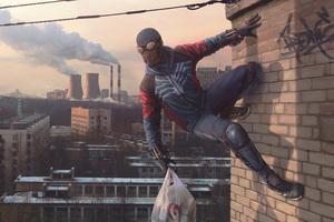 Northern Spider 5k Wallpaper