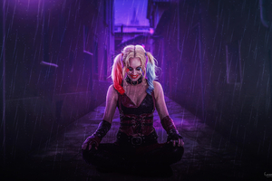 Notorious Harley Quinn Wallpaper