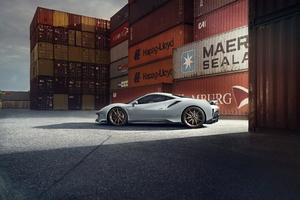 Novitec Ferrari 488 Pista 2019 Side