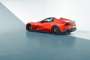 Novitec Ferrari 812 GTS 2021 Front 8k Wallpaper
