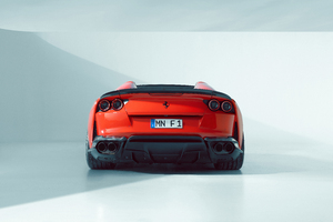 Novitec Ferrari 812 GTS 2021 Rear Wallpaper