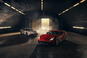 Novitec Ferrari 812 Superfast N Largo 2019 4k