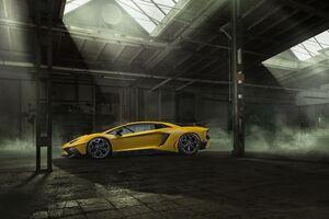 Novitec Lamborghini Aventador SV Powerkit