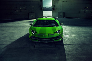 Novitec Lamborghini Aventador SVJ 2019 8k Wallpaper