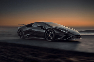 Novitec Lamborghini Huracan EVO RWD 2021 10k Wallpaper