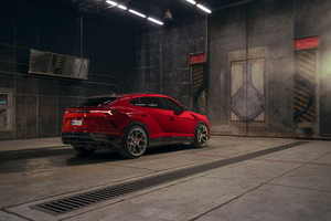 Novitec Lamborghini Urus 2019 Rear Wallpaper