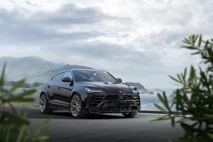 Novitec Lamborghini Urus Esteso 2019 Black Wallpaper