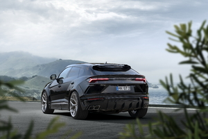 Novitec Lamborghini Urus Esteso 2019 Rear Wallpaper
